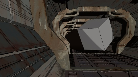 Test render for John Brito´s animated science fiction short film Echoes