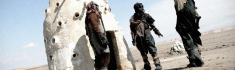 John Brito shooting science fiction film Nostromo in Tunia