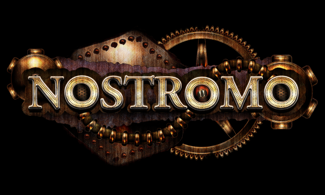 Logo of the postapocalyptic science fiction film Nostromo