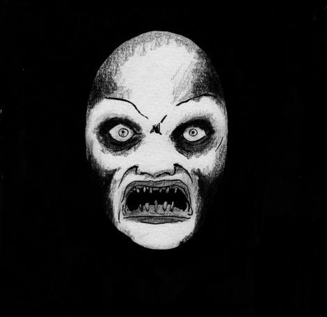 study for John Brito´s sci-fi horror movie The Wendigo Effect