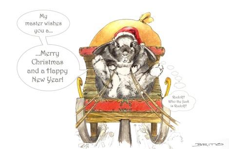 Christmas illustration by John Brito