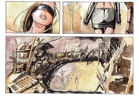 postapocalyptic comic by John Brito