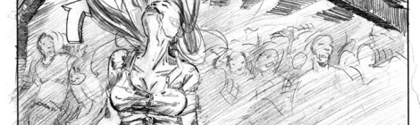 Rob Zombie Horror Fanvideo storyboard