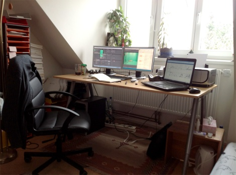 a workspace to finish sci-fi short film