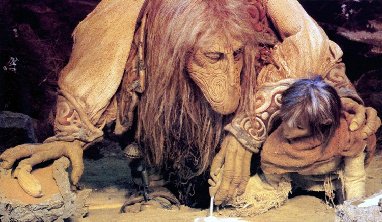 Dark Crystal puppet animation Jim Henson