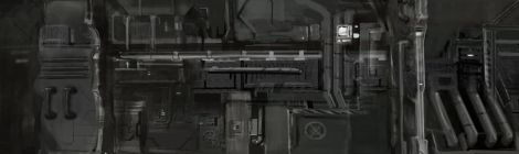 concept design for animated science fiction short film