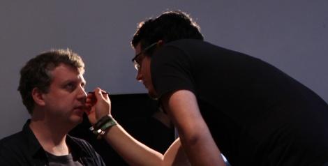 Make up test for horror short film