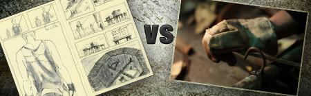 graphic novel VS webseries by John Brito