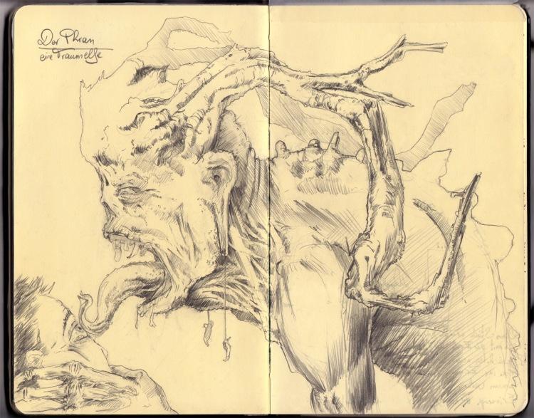 dark faery illustration by director John Brito