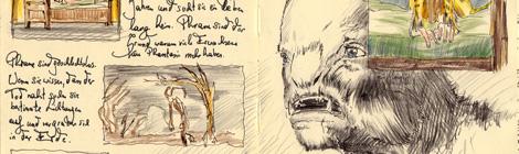 faery illustration and life cycle by John Brito