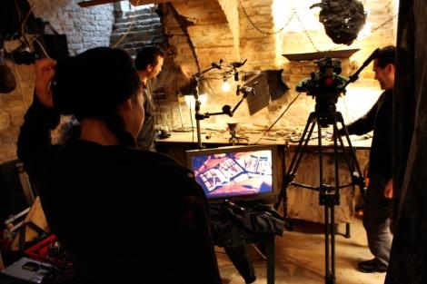 shooting a horror web series