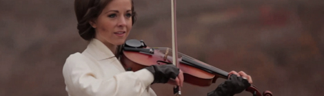 violinist Lindsey Stirling