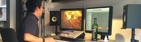horror short film sound mix