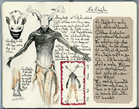 sketchbook director John Brito horror fairy