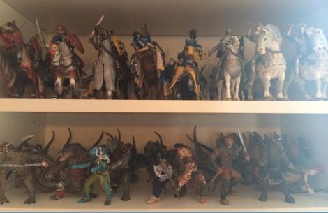 fantasy warriors and knights toys