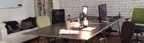 John Brito´s my new artist´s working place