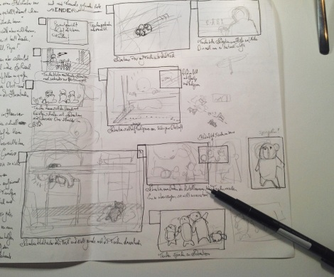 story outline for children´s book by John Brito