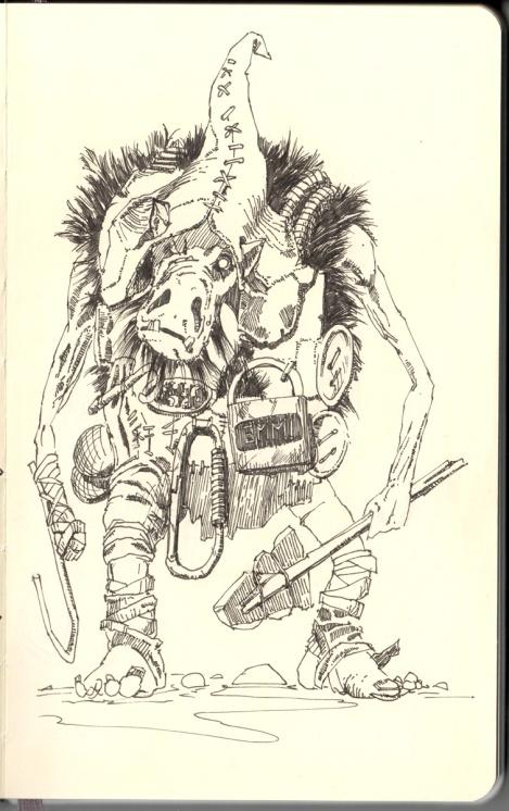 awesome fantasy children´s book illustration