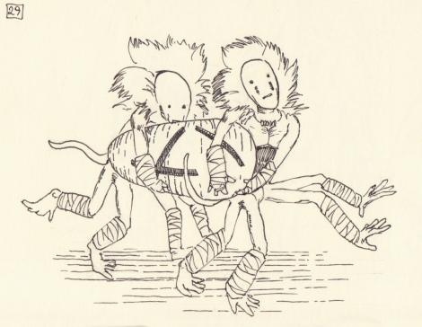 fairy tale creature illustration by John E. Brito