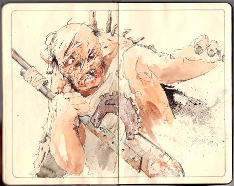 postapocalyptic mutant by John E. Brito