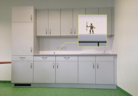 artist's studio kitchen