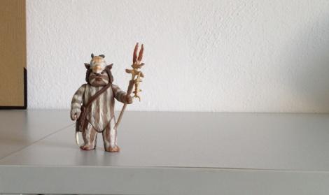 Ewok figure