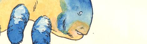 fairytale fantasy children's book illustration by John E. Brito