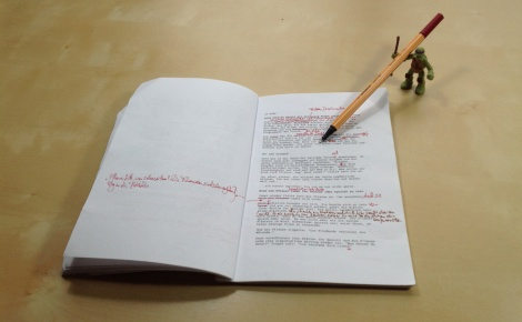 script for John E. Brito's fairytale children's book Below the Floor