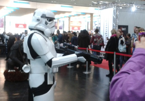 Star wars stormtrooper at Vienna Comic Con 2015
