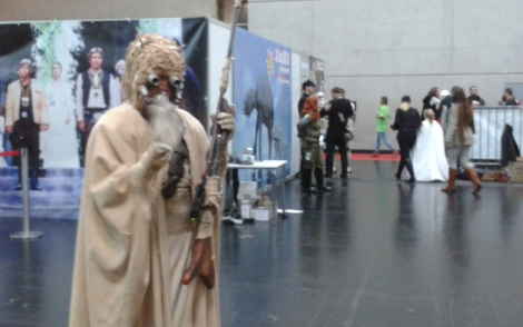Star Wars Tusken Raider at Vienna Comic Con 2015