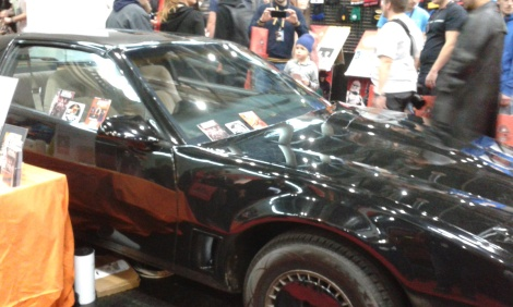 Knight Rider K.I.T.T. at Vienna Comic Con 2015
