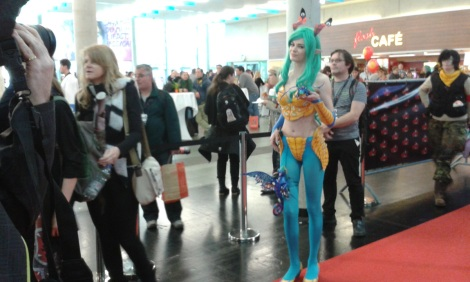 beautiful cosplayer at Vienna Comic Con 2015