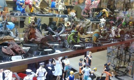 figures at Vienna Comic Con 2015