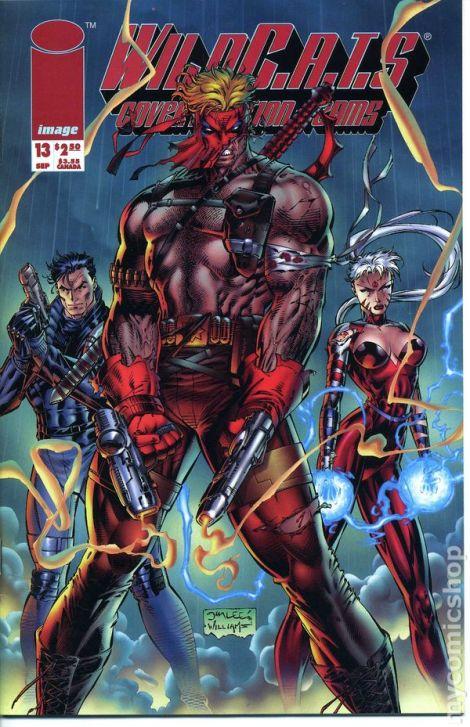 Wild C.A.T.S. comic cover