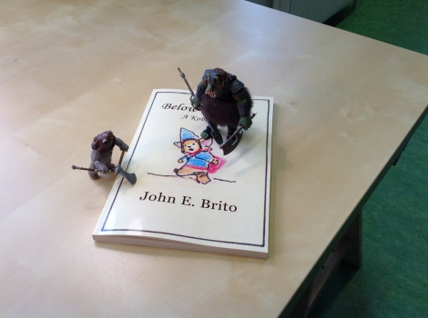 fairytale fantasy book with kobolds by John E. Brito