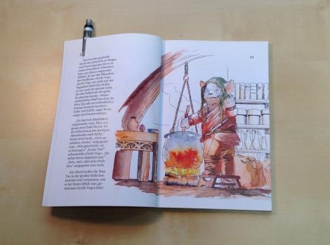 fairytale fantasy book with kobolds by John E. Brito