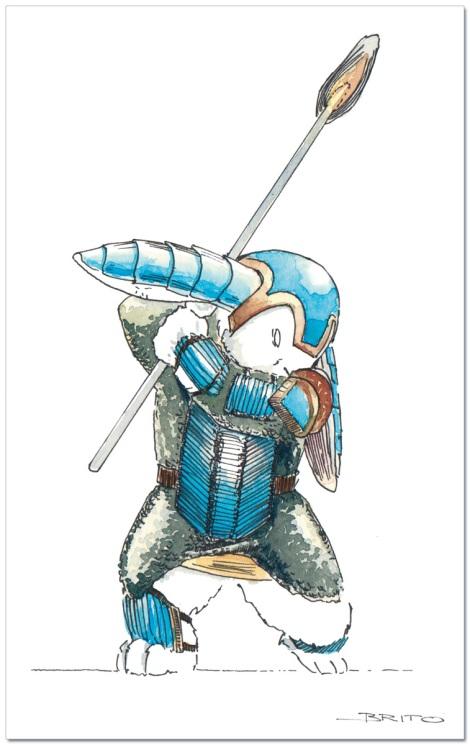 fairytale fantasy book illustration by John E. Brito