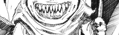 illustrated ultra short scary fantasy story by John E. Brito