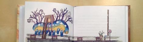 fantasy children`s book with watercolour illustrations by John E. Brito