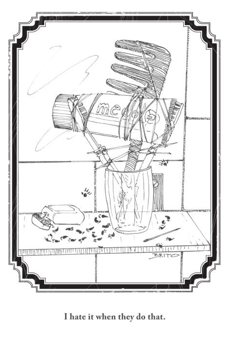 ultra short illustrated fantasy story by John E. Brito