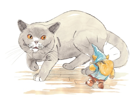 children's book illustration by children's book author John E. Brito